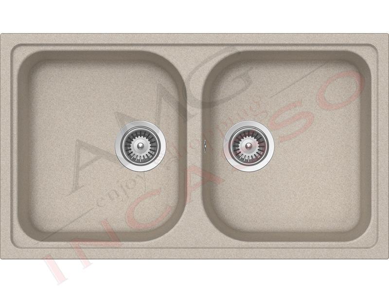 Lavello cucina 2 vasche pietra plus fragranite - Lavello cucina avena ...