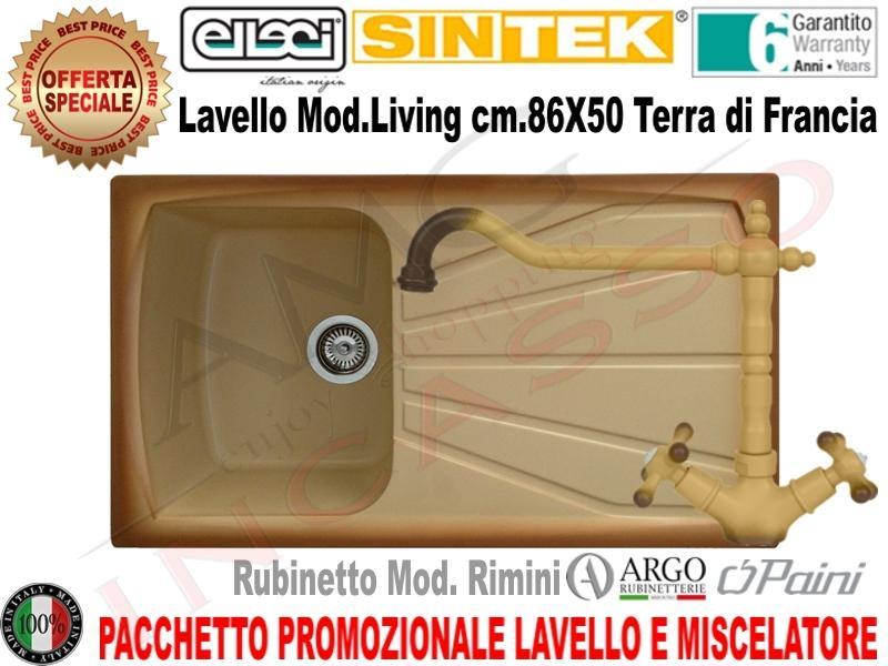OFFERTA PROMOZIONALE!!! Pacchetto Lavello + Rubinetto | AMG incasso ...