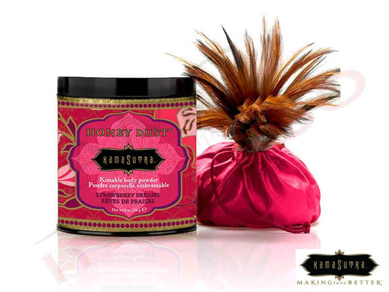 Polvere Aromatizzata Kamasutra Miele Fragola Honey Dust Strawberry Dreams