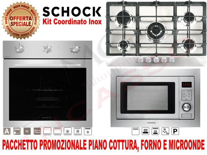 OFFERTA PROMOZIONALE!!! Pacchetto: Piano Cottura cm.75 • Forno ...