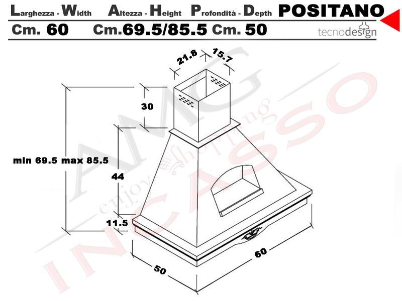 single CUCINA 33x25cm per Mini Forno piccolo cucina Griglia//gitterost 721