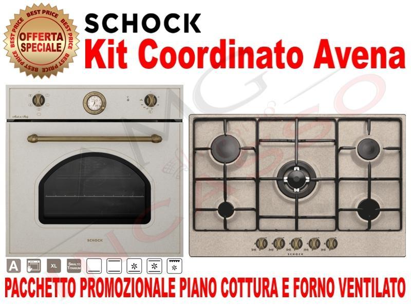 Pacchetto Avena Piano Cottura Cm 75 Forno Ventilato Amg Incasso Elettrodomestici Da Incasso